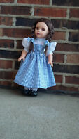 """18"""" Doll Clothes Wizard of Oz Dorothy Inspired Outfit fits American Girl Doll"""