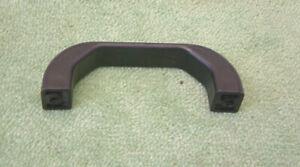 New Heavy Duty Fixed Plastic Lifting / Sliding / Side /Grip Handle 145mm - Black