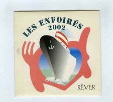 CD SINGLE PROMO LES ENFOIRES 2002 REVER