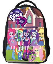 16'' My Little Pony Girls Kids Bag Backpack School Bags Shoulder Bag