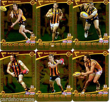 2012 AFL Teamcoach Gold Parallel Team set Hawthorn (12)
