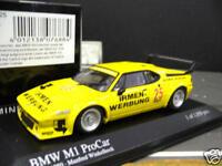 BMW M1 Procar 1980 DRM #25 Winkelhock Irmen Werbung PMA Minichamps 1:43