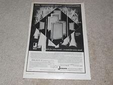 Jensen Galaxy III Speaker Ad, 1960, 1 pg, Article, Rare Original Ad!