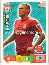 Adrenalyn XL Liverpool FC 11/12 - #035 Martin Skrtel - Squad