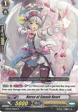 CARDFIGHT VANGUARD CARD: NURSE OF SMASH HEART - G-BT07/026EN R RARE