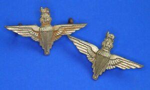 WW2 Parachute Regiment (Paras) Collar Badge PAIR [22019]