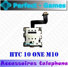 HTC 10 ONE M10 lecteur carte SIM card reader slot tray holder flex cable