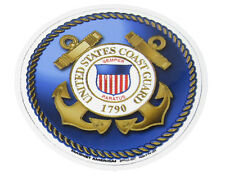 U.S. USCG Coast Guard Emblem Military Mini Magnet (Car / Fridge / Other)