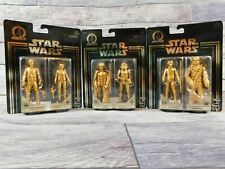 Star Wars Commemorative Edition Skywalker Saga Gold 3 (2-Packs) Han, Luke, Darth