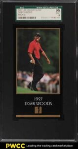 1998 Champions Of Golf Masters Collection Tiger Woods ROOKIE RC SGC 9 MINT
