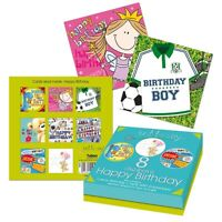 8 x CARDS FOR KIDS BIRTHDAY GREETING CARD MIX FOR BOYS AND GIRLS ENVELOPE 4490