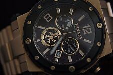 Renato Men's Master Horologe Destructor Rose Gold Bracelet brown Dial Watch