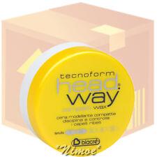 Compact Wax head.way box 12 pcs x 125ml Biacrè ® Tecnoform modelling shine lustr