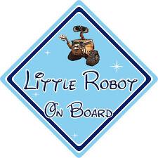 Little Robot On Board Car Sign – Baby On Board – Disney Wall-E