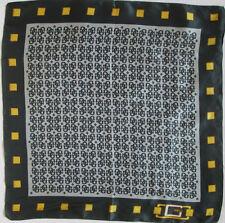 GUESS   foulard- Tour de cou soie  TBEG vintage  50 X 52 cm