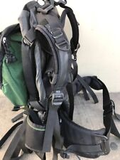 Gregory Shasta Internal Frame Backpack / Forrest Green and Black Size S Camping