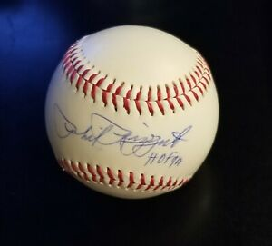 Phil 'The Scooter' Rizzuto signed baseball  HALL OF FAME- PRISTINE