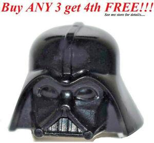 ☀️NEW Lego Minifig Hat Black Darth Vader Starwars Star wars Helmet Head Piece