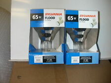 SYLVANIA 15160 65 WATT 65W BR30  FLOOD LIGHT  BULB PACK OF 2