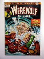 Marvel WEREWOLF BY NIGHT #22 SIGNED by Don PERLIN w/COA FN (6.0) Ships FREE!