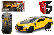 Jada Chevrolet Camaro 2016 Bumble Bee Transformers Last Knight 98399 1/24