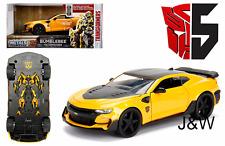 Jada Chevrolet Camaro 2016 Bumble Bee Transformers Last Knight 98399 1/24