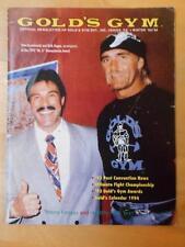 Rare GOLD'S GYM bodybuilding muscle newsletter/magazine/HULK HOGAN Winter 1993