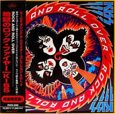 KISS CD - JAPANESE REMASTERED - R'N'R OVER - GATEFOLD - LIKE MINI LP - C139203