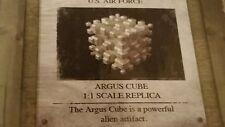 1 SUPER 8 Movie Argus Cube Full Size Prop Replica Quantum Mechanix Qmx JJ Abrams