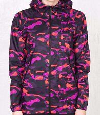 Nike T/F Camo Windrunner Womens Jacket Crimson/Purple 687611-584 Size Small $110
