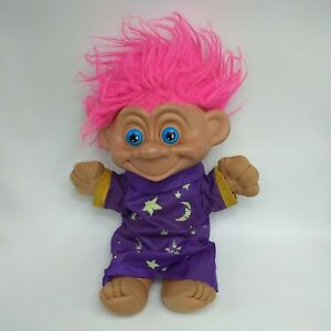 Vintage 1992 Toymax Talking Troll Doll Large 35cm Tall Wizard Battery operated