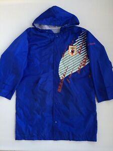 Vintage Original Japan JFA Player Issue Long Bench Coat Soccer Jacket 1993-1995