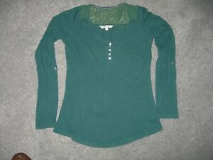 Womens fat face Top size 10 Green Good condition
