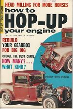 1962 HOW TO HOP UP July Stromberg 1934 Plymouth 1932 FORD Supercharger on 392