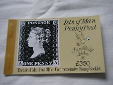 Isle Of Man £3.50 Booklet - Penny Post.