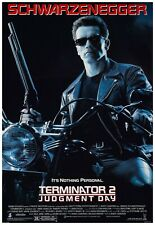 """The Terminator 2 Judgement Day Movie Poster Full Color Print - Wall Art - 24x36"""""""