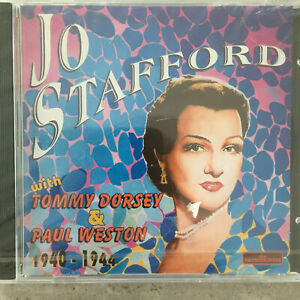 JO STAFFORD with Tommy Dorsey & Paul Weston (IT CD The Entertainers 420 / OVP)