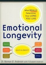 Emotional Longevity: What REALLY Determines How Long You Live, Anderson, Norman
