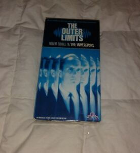 THE OUTER LIMITS The Inheritors VHS Robert Duvall Free Shipping