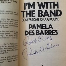 Pamela Des Barres SIGNED Autobio Groupie Morrison Keith Moon Zappa Don Johnson