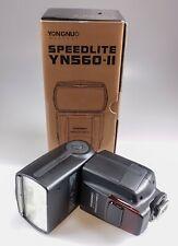 Yongnuo Speedlight YN560-II Flashgun for Nikon with box.