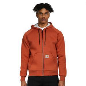 Carhartt WIP - Car-Lux Hooded Jacket Cinnamon / Grey Kapuzenjacke Zip Hoodie