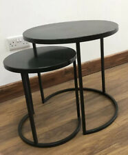 Round Table Nest - Set of Two Black