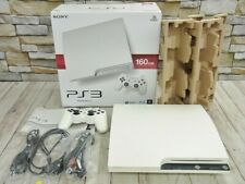 PLAYSTATION 3 (160GB) Ceramic White PS3 SONY from Japan game Rare Free shipping