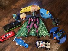 Mixed Resale Toy Lot Elsa Batman Car Transformer Skylander. As Is.