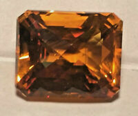 Golden Citrine  Excellent Clarity  Cushion Cut 17 x 14 x 12 mm 21 ct