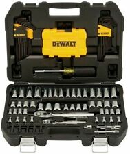 DEWALT 108 PIECE MECHANICS TOOL SET WITH CASE DWMT73801 BRAND NEW FAST SHIPPING