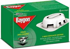 Piege Cafard Baygon Anti Maison Lot Appat Efficace Pack Attrape Boite Produit Ne