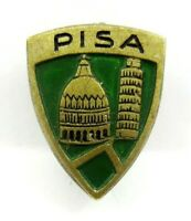 Vintage Pisa Italy Leaning Tower  Lapel Pin Badge