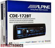 Alpine CDE-172BT In-Dash Car Radio/ Receiver W/ Advanced Bluetooth /USB/CD/AUX